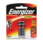 Элемент питания ENERGIZER ААА LR03-BL2 Maximum