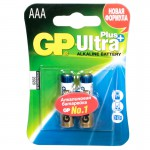 Элемент GP LR03 ULTRA PLUS ALKALINE 24AUP-2CR4 BL-4/40/320