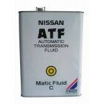 Масло трансм. Nissan MATIC FLUID ATF C 4л